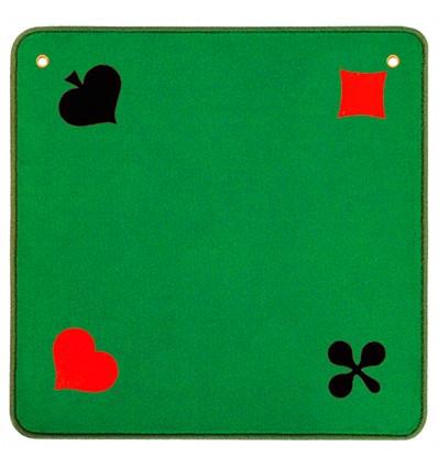 Jassteppich grün Piquet