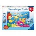 Puzzle Bunte Unterwasserwelt