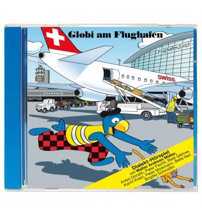 CD Globi am Flughafen