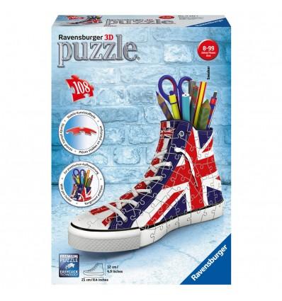Puzzle 3D Sneaker Union Jack