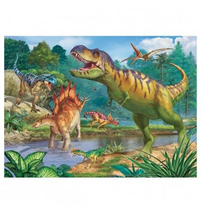 Puzzle Welt der Dinosaurier