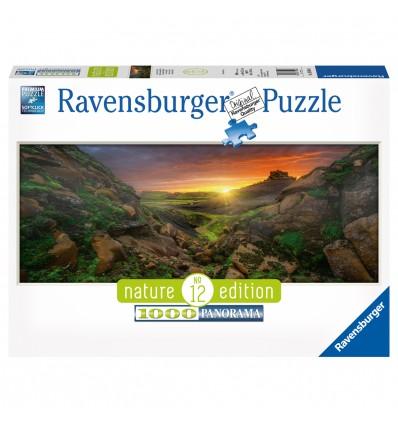 Puzzle Sonne über Island