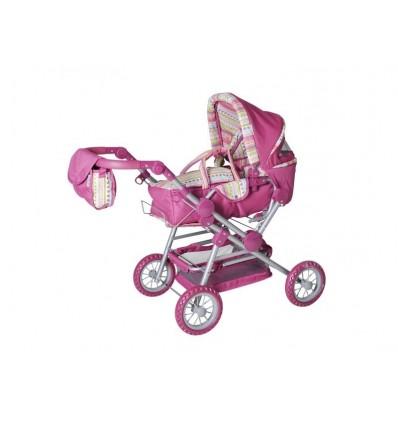 Puppenwagen Twingo S Pink Stripe