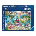 Puzzle Disney's Weltkarte