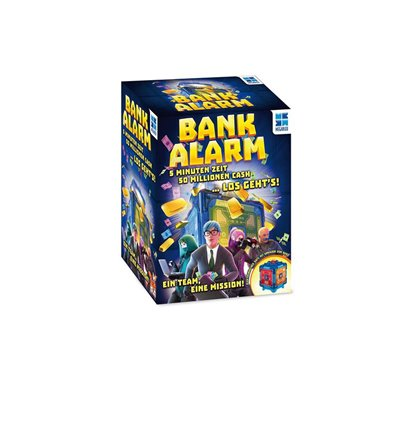 Familienspiel Bank Alarm