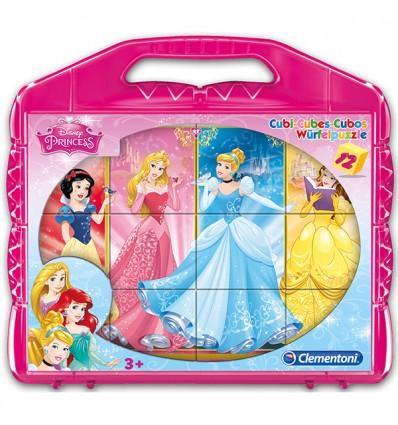 Würfelpuzzle Princess