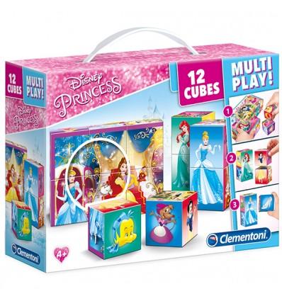 Würfelpuzzle Multiplay Princess