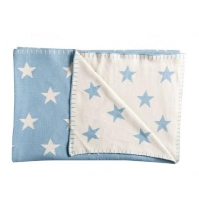 Kuscheldecke Big Star Baumwolle Sterne