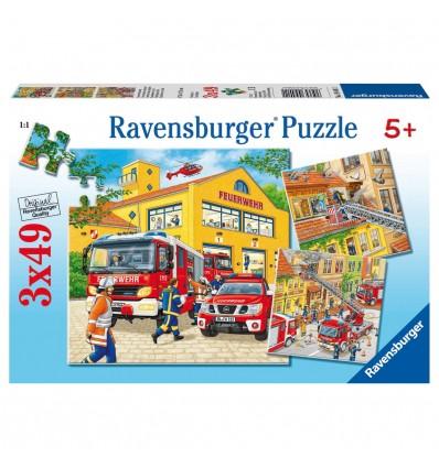 Puzzle Feuerwehreinsatz