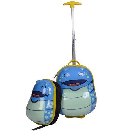 Reisekoffer Bouncie Trolley Bug - Ocean Set