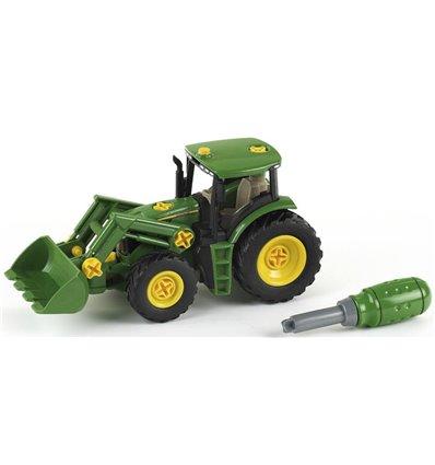 Landwirtschaftsfahrzeug John Deere Traktor mit Frontlader