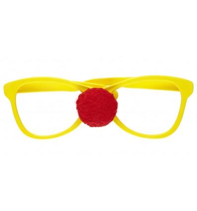 Clownbrille Übergross