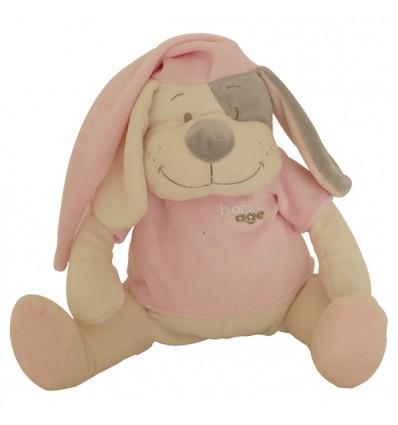 Hund pink 30cm