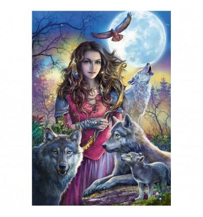 Puzzle Patronin der Wölfe