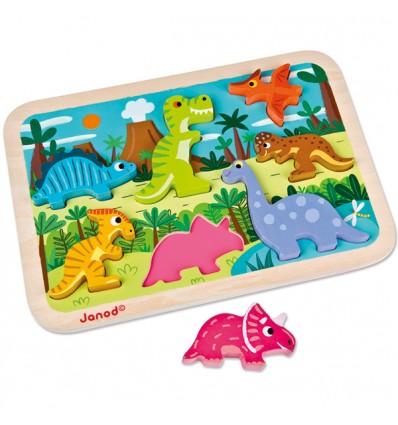 Formenpuzzle Dinosaurier