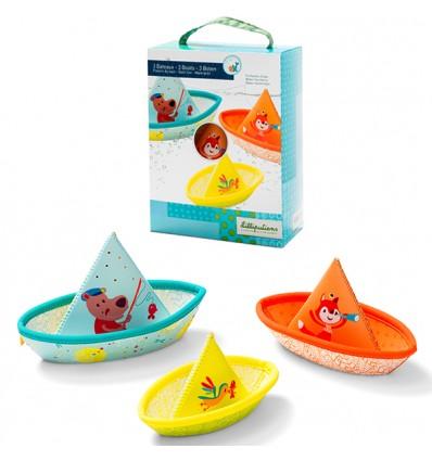 3 kleine Boote