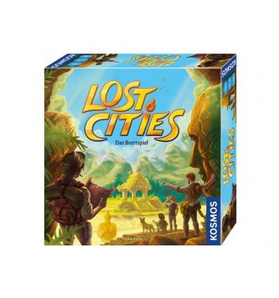 Strategiespiel Lost Cities das Brettspiel